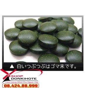 Tảo SPIRULINA của Nhật Bản có tác dụng gì trong việc làm đẹp? bán tại donkihote Shop