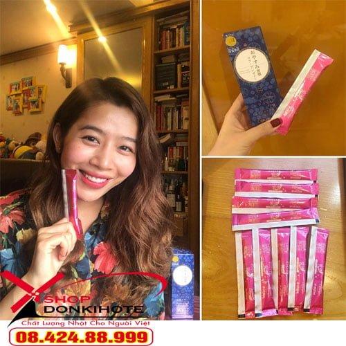 Thạch collagen oyasumi shukan của Nhật có tốt không tại Hà nội mua uy tín nhất ở donkihote shop