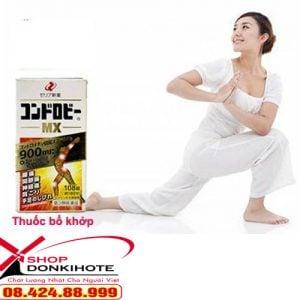 Thuốc bổ xương khớp MX Chondroitin Nhật Bản 192 viên tăng khả năng phục hồi, tăng tiết chất bôi trơn trong khớp và các mô cơ.
