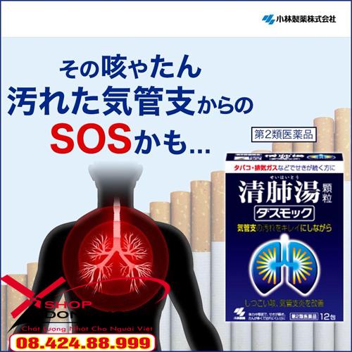 Thuốc bổ phổi Kobayashi với 16 loại thảo dược được bào chế theo công thức y học cổ truyền