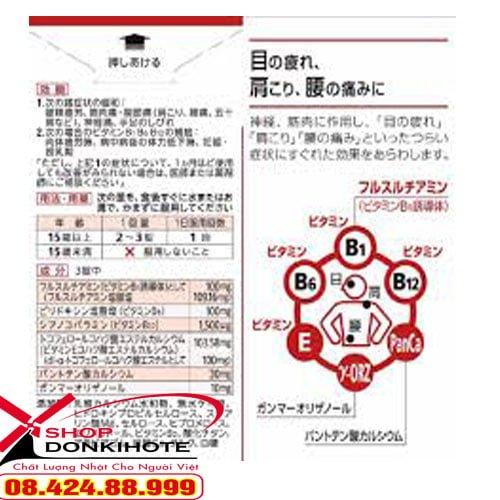 Thuốc bổ xương khớp Nhật Bản Arinamin EX Plus 120 viên