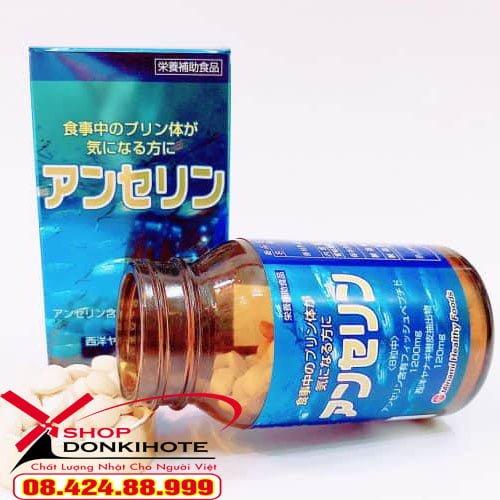 Thuốc gout Anserine Minami của Nhật Bản là sản phẩm được đánh giá hàng đầu tại Nhật