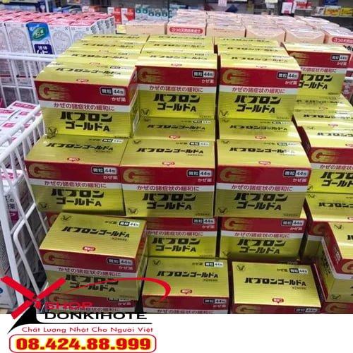Thuốc Pabron trị cảm cúm 44 gói Nhật Bản trị dứt điểm các cơn cảm cúm mộ cách nhanh chóng và hiệu quả