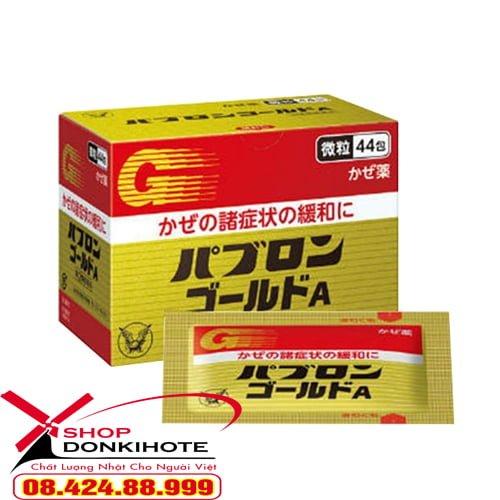Thuốc trị cảm cúm 44 gói Pabron của Nhật điều trị hiệu quả triệu chứng cảm cúm ho, nhức đầu, ớn lạnh, chảy nước mũi,...