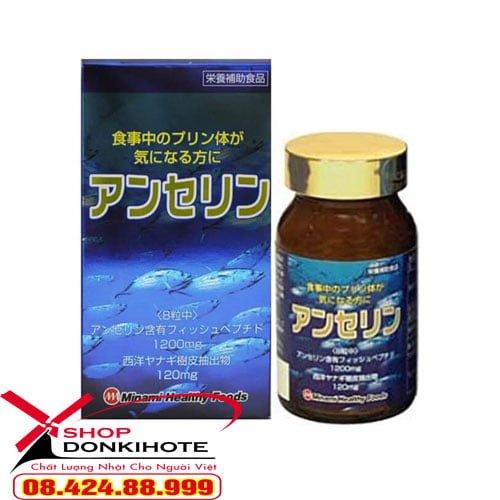 Viên uống trị gout Nhật Anserine Minami giá bao nhiêu