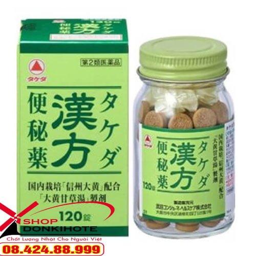 Thuốc trị táo bón Takeda 180 viên giá bao nhiêu tiền