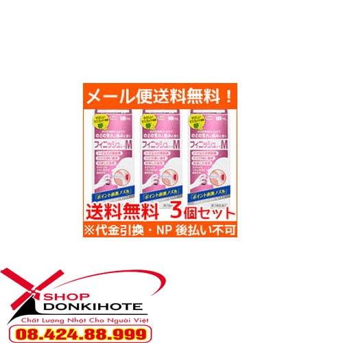 Thuốc Xịt họng hồng kowa Nhật Bản – Với thành phần từ thiên nhiên,