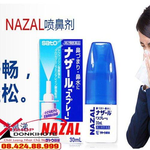 Thuốc Nazal Nhật Bản 30ml Nhật Bản xịt mũi mua ở đâu