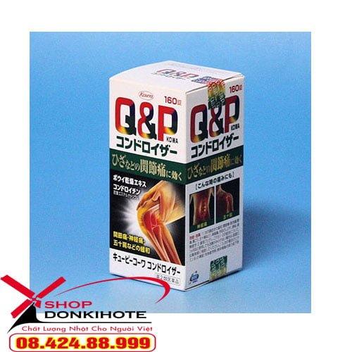 sản phẩm viên uống bổ xương khớp Q&P Kowa còn giúp cung cấp độ ẩm thích hợp cho đôi mắt