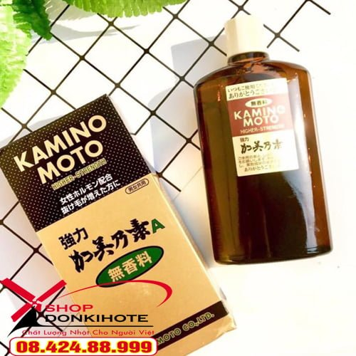 Tinh dầu mọc tóc Kaminomoto Higher Strength cho mái tóc dày, suôn mượt và khỏe mạnh