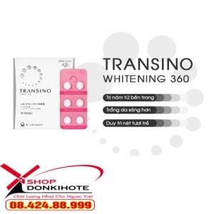Viên uống Transino Whitening tàn nhang 240 viên giá tốt nhất ở donkivn