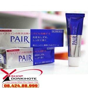 Kem Lion Pair Acne W Cream Nhật Bản 24gr Trị Mụn chính hãng trả lại làn da mịn màng