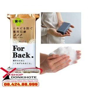 Xà phòng trị mụn lưng For Back 135g Nhật Bản là sản phẩm đặc trị mụn vùng da lưng, vùng da toàn thân