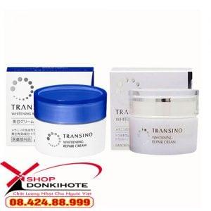 Lưu ý khi sử dụng Kem dưỡng đêm Trị Nám Transino whitening repair cream 35g