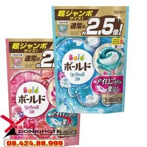 Viên giặt Nhật bản Bold 44 viên có tốt không