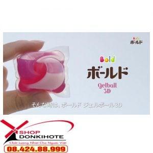 Viên giặt Nhật bản Bold 44 viên Nhật Bản hiệu quả 3 trong 1 ~ nước giặt + nước xả + hương thơm