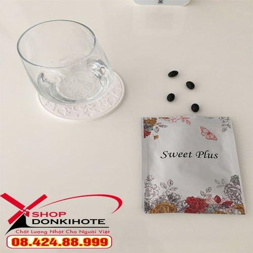 Viên nang bổ sung Estrogen Sweet Plus Nhật Bản tăng nội tiết tố nữ