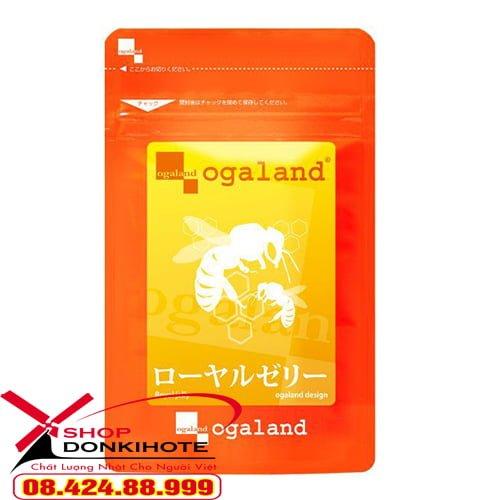 Viên uống sữa ong chúa Ogaland Nhật Bản là món quà sức khỏe tuyệt vời từ thiên nhiên