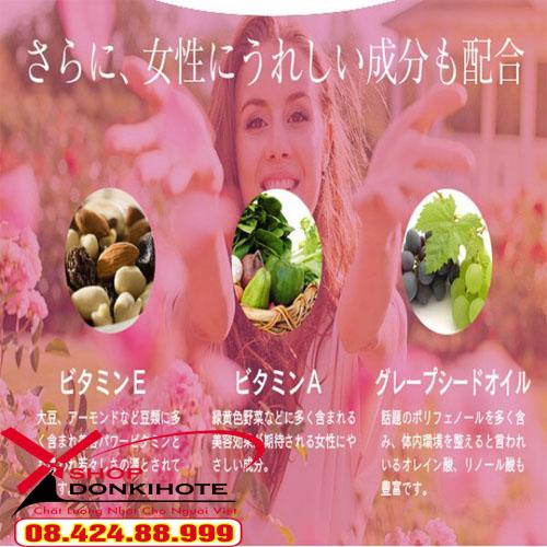 Viên uống thơm Beauty Rose Crystal Nhật Bản giúp bạn xua tan nỗi lo mùi hôi trên cơ thể