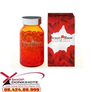 Viên uống thơm Beauty Rose Crystal Nhật Bản giá bao nhiêu