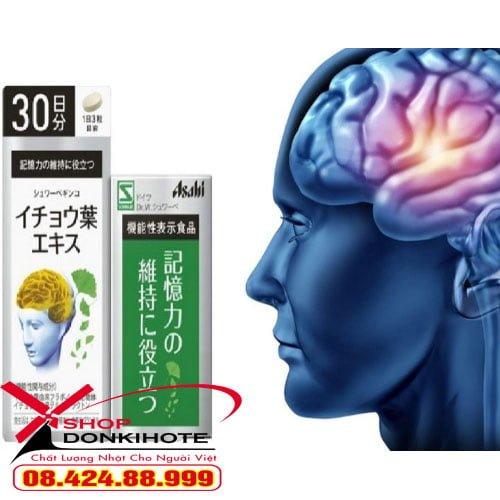 Viên uống bổ não Ginkgo Asahi Nhật Bản