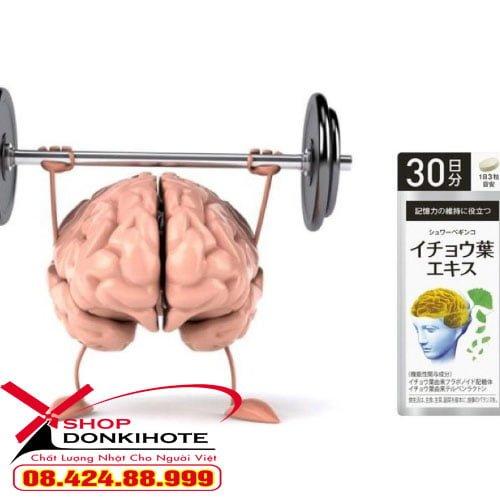 Viên uống Ginkgo Asahi Nhật Bản bổ não