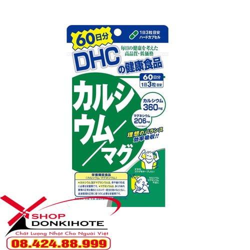 Viên uống DHC 60 ngày nhật bản bổ sung canxi mua ở đâu