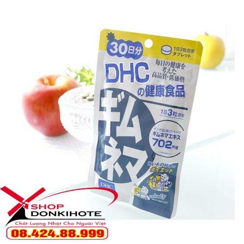 Viên uống cân bằng đường huyết DHC Gymnema