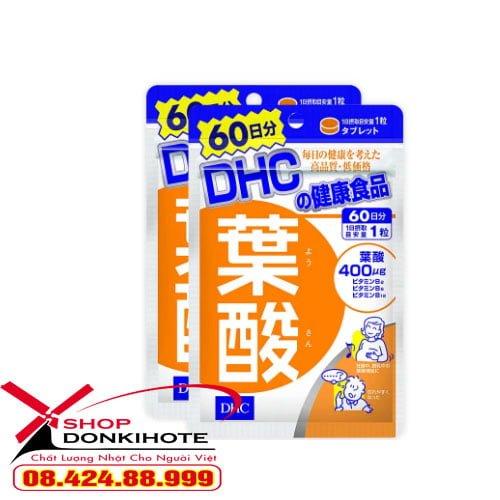Viên uống cho mẹ bầu DHC Axit Folic Nhật Bản