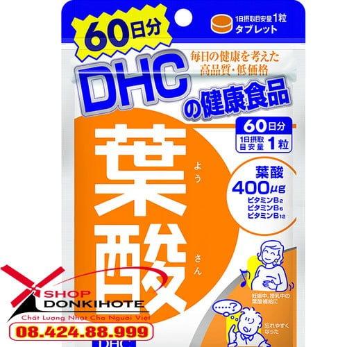 Viên uống cho mẹ bầu DHC Axit Folic