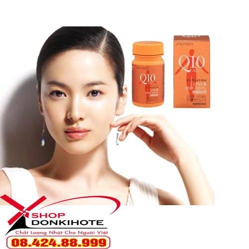 Thành phần Shiseido Q10 AA 90 viên
