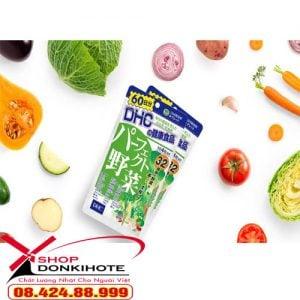 mua viên uống DHC rau củ 60 ngày Premium Yasai Nhật Bản tại Donkihote