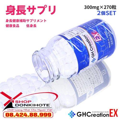 Viên uống GH Creation Nhật Bản tăng chiều cao nhanh an toàn hiệu quả