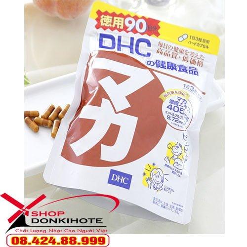 Viên uống Maca DHC 20 ngày của Nhật Bản được chiết xuất từ maca thiên nhiên