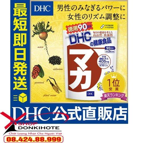 Viên uống Maca DHC 20 ngày của Nhật giá bao nhiêu tiền