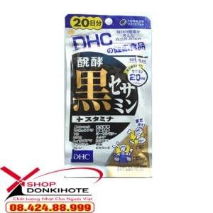 Mè đen DHC của Nhật 20 ngày 120 viên còn có tác dụng trong việc điều trị chứng thiếu máu