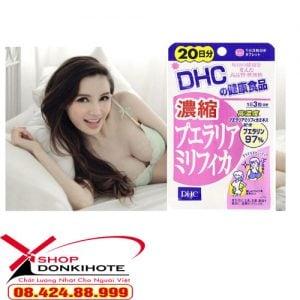 sử dụng viên uống nở ngực DHC tăng vòng 1 siêu tốt