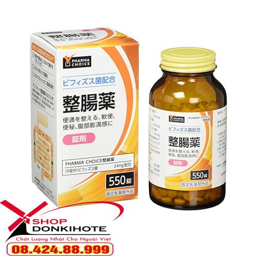 Thuốc bổ sung lợi khuẩn đường ruột Pharma Choice 550 chính hãng tại donkivn.com