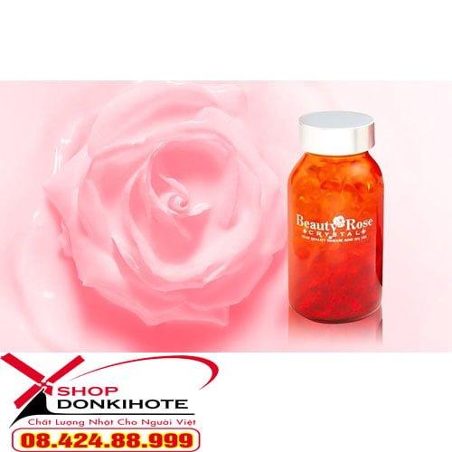 Viên uống tỏa hương thơm Beauty Rose Crystal Nhật Bản giá tốt tại donkivn.com Shop
