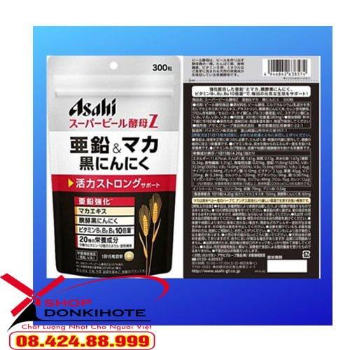 viên uống Tỏi đen Asahi Maka – tăng cường sinh lý chăn gối Nhật Bản ở đâu uy tín