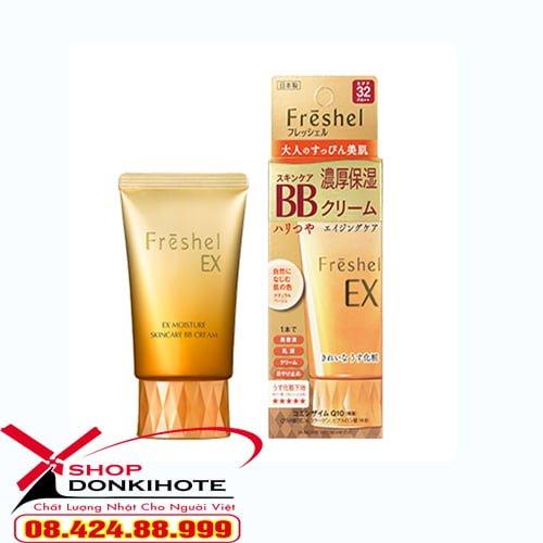 Kem trang điểm BB Cream Kanebo Freshel 5 in 1 chống nắng tốt, lớp nền bền lâu với khả năng chống trôi vượt trội