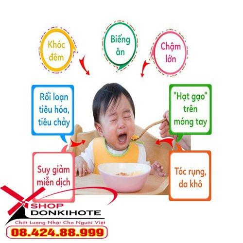 Dấu hiệu thiếu kẽm ở trẻ bạn cần bổ sung kẽm dhc cho bé