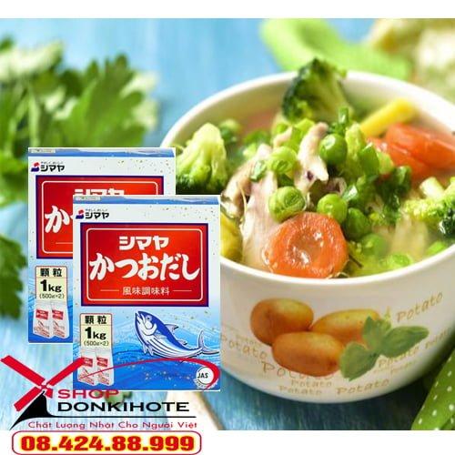 Món ngon mỗi ngày cho bé với bột nêm từ cá Katsuo