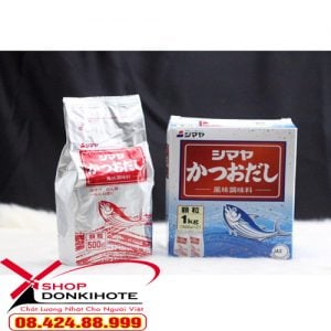 Bột nêm từ cá Katsuo Nhật Bản bổ sung dưỡng chất cho món ăn của bé