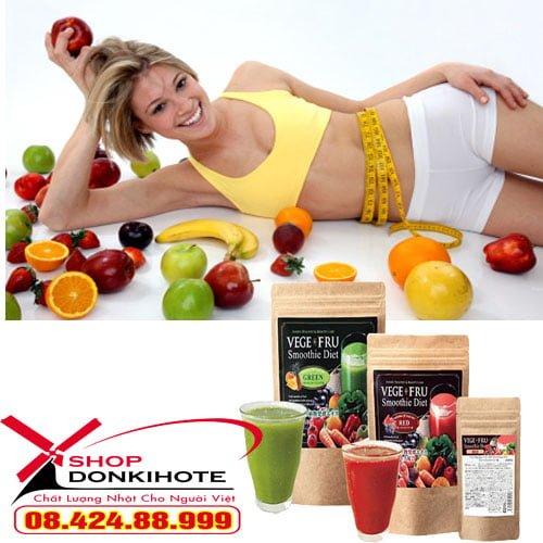 Mua bột giảm cân rau củ Vege Fru Smoothie Diet