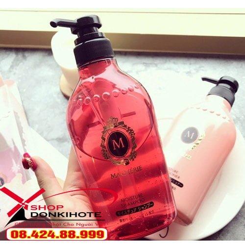 Cặp dầu gội và xả Shiseido Macherie 380ml chính hãng