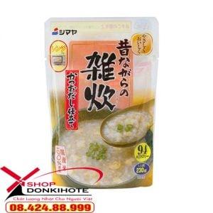 Cháo vị trứng và nước dùng từ cá Katsuo Nhật Bản