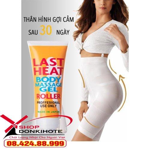 Kem đánh tan mỡ bụng Last Heat Body giá tốt tại Vũng Tàu