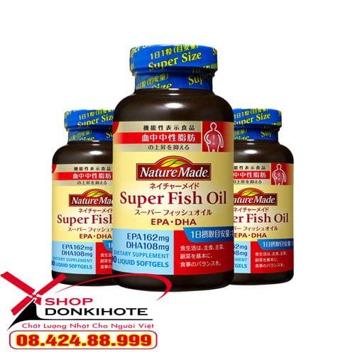 Dầu cá Nature Made Super Fish Oil Nhật Bản chính hãng giá tốt