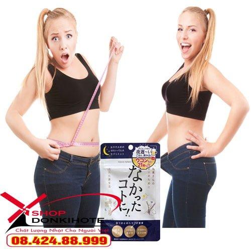 Enzyme giảm cân ban đêm Nhật Bản chính hãng tại donkivn.com